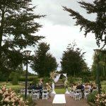 Bruiloft tuin 2